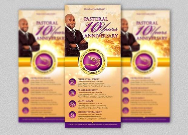 Clergy anniversary rack card template godserv designs sellfy clergy anniversary rack card template maxwellsz