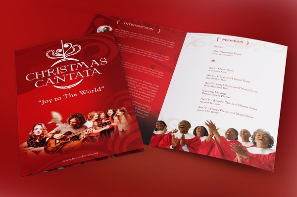 Christmas Cantata Program Template