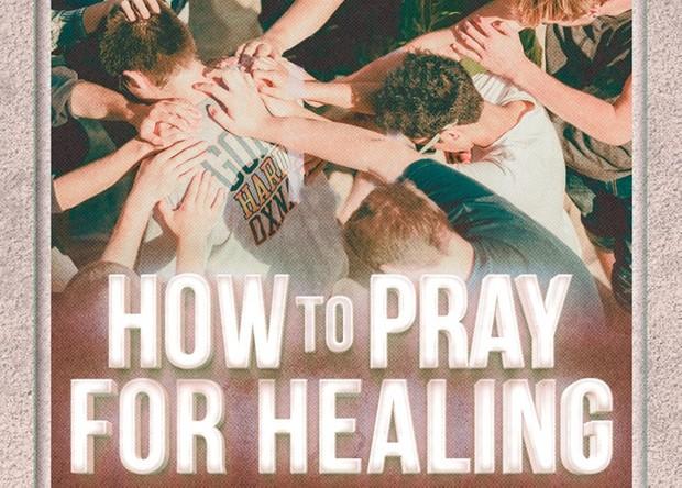 Prayer for Healing Church Flyer Template