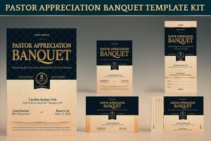 Pastor Appreciation Banquet Template Kit