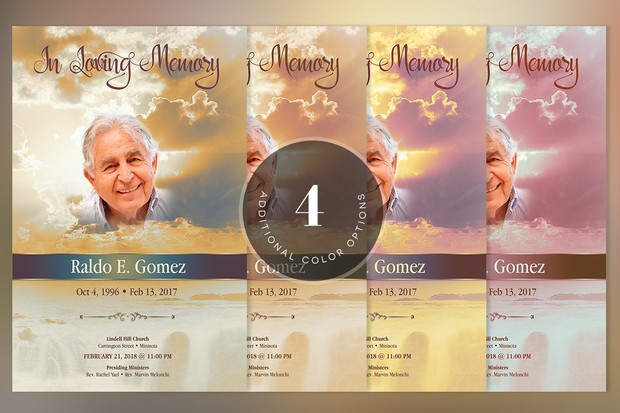 Forever Funeral Brochure Template