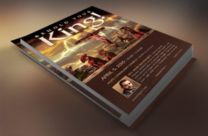 Crucified Flyer Template