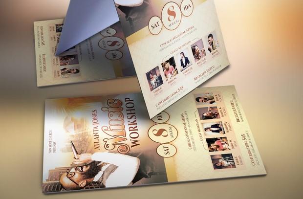 Church Music Workshop Flyer