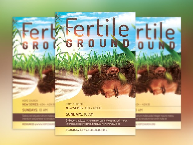 Fertile Ground Flyer and Poster Template