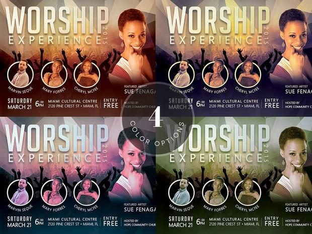 Church Concert Flyer Template