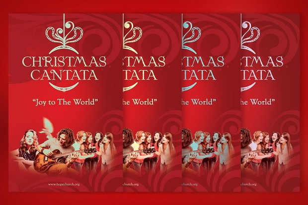 Christmas Cantata Program Template