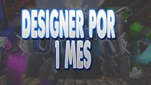 Designer por 1 mes
