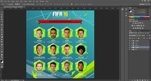 FIFA 16 STYLE HEXAGONS