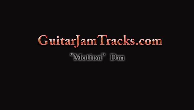 Guitar Jam Track - Motion in Dm