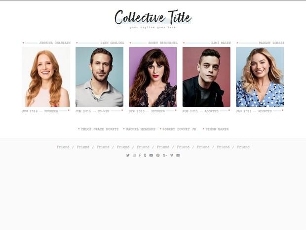 Collective Theme #05 (Responsive)