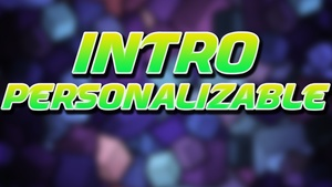 Intro Personalizable (SOLO BLENDER).
