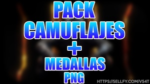 [Black Ops 3] Pack Camuflajes Armas + Medallas PNG
