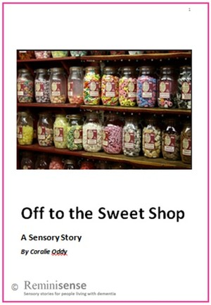Off to the Sweet Shop: A Sensory Story