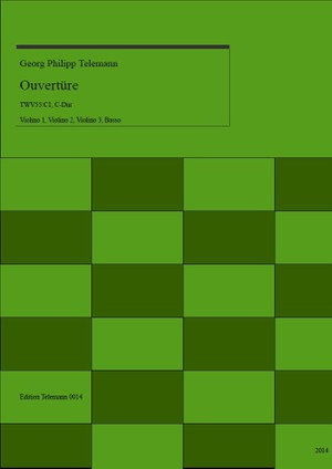 0014 Ouverture in C TWV55:C1