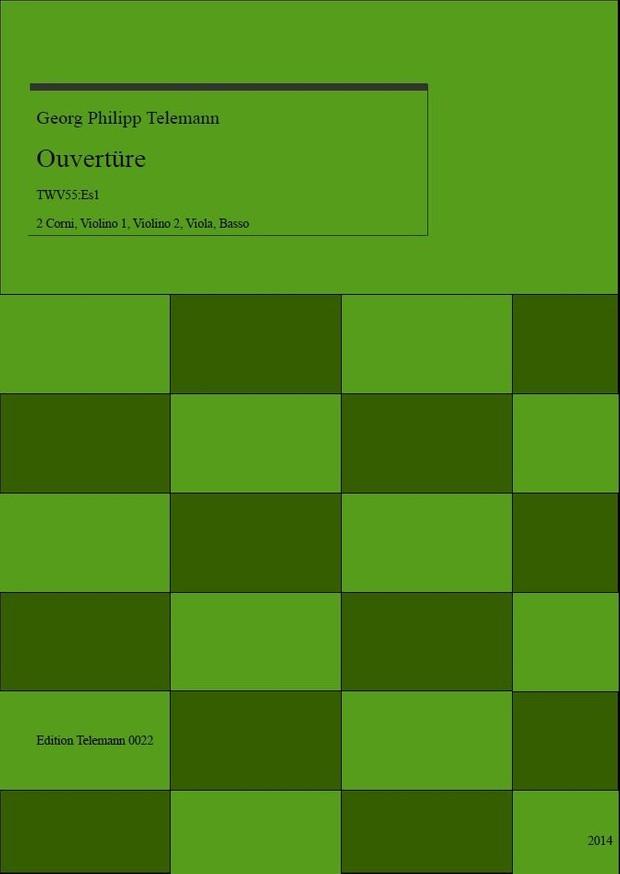 0022 Ouverture in Es (E-flat) TWV55:Es1