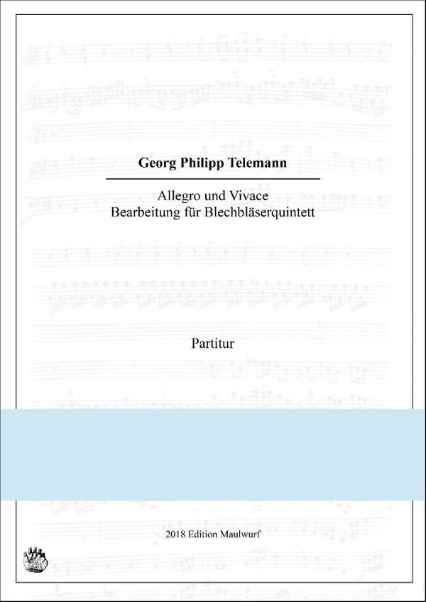 Allegro und Vivace für Blechbläserquintett