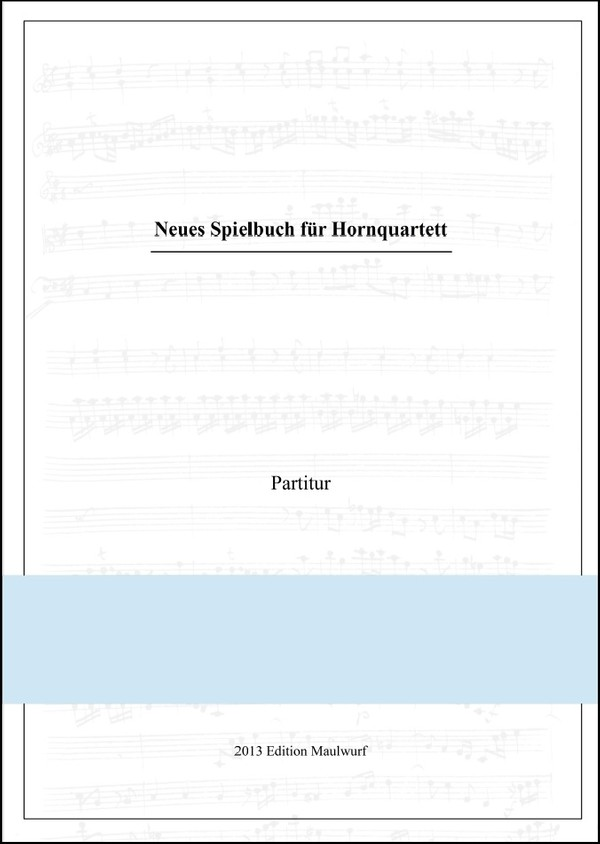neues Spielbuch für Hornquartett