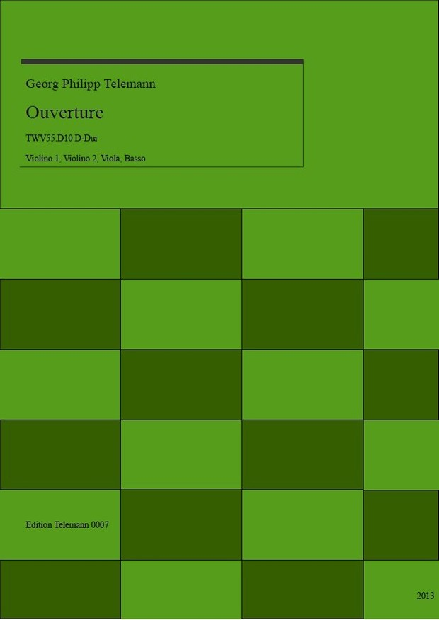 0007 Ouverture in D TWV55:D10