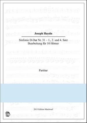 Haydn Sinfonie Nr.31 (Hornensemble)