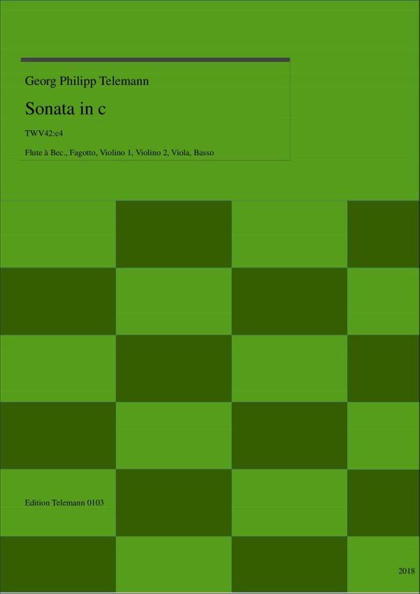 0103 Sonata in c TWV42:c4