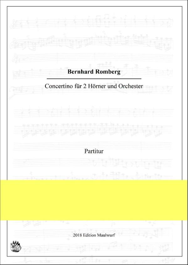 Concertino für 2 Hörner