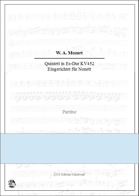 Mozart Quintett KV452