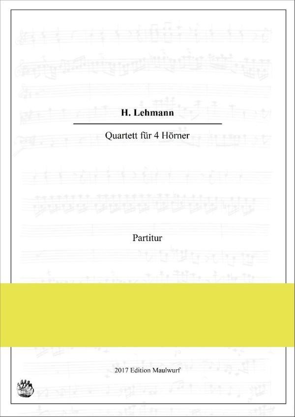 H. Lehmann Quartett für 4 Hörner