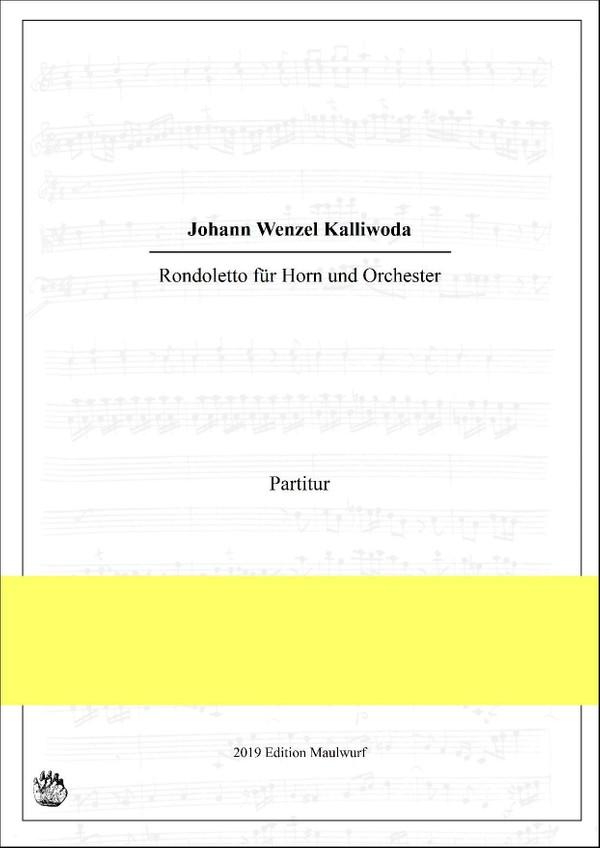 Rondoletto für Horn und Orchester