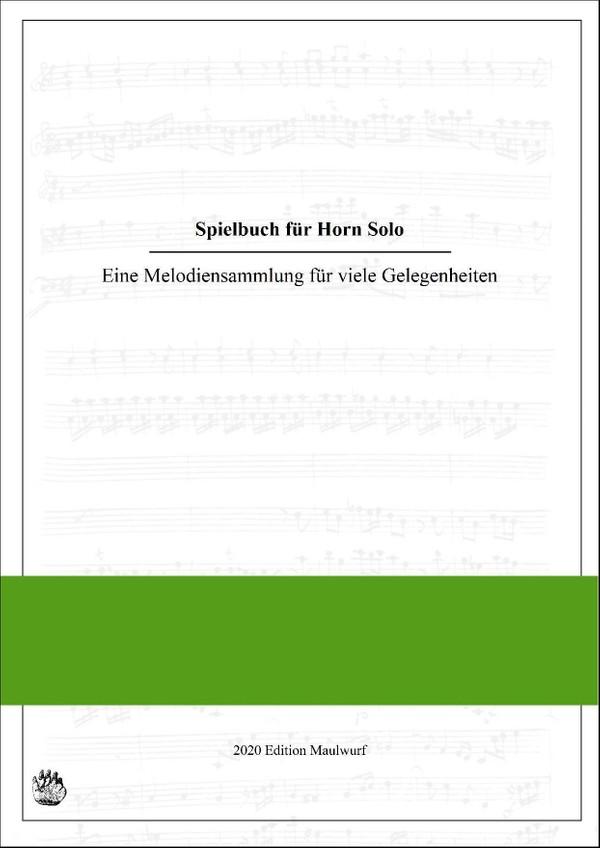 Spielbuch für Horn Solo