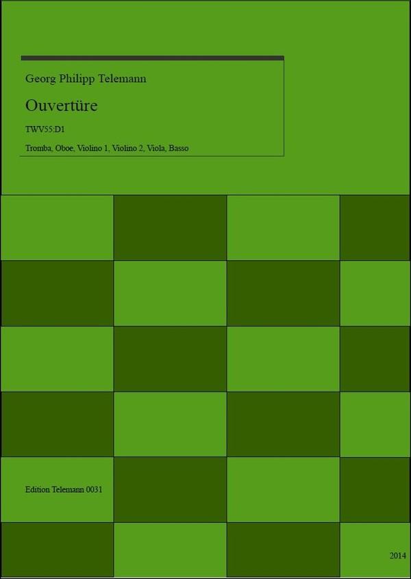 0031 Ouverture in D TWV55:D1