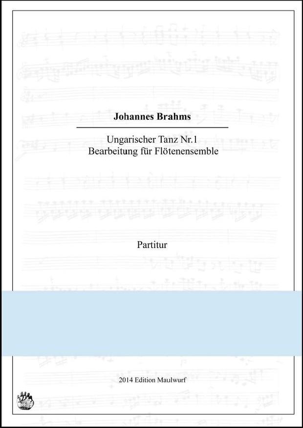 Ungarischer Tanz Nr.1 (Flötenensemble)
