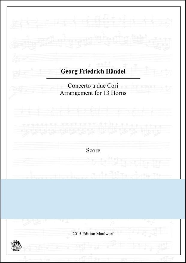 Händel Concerto Hornensemble