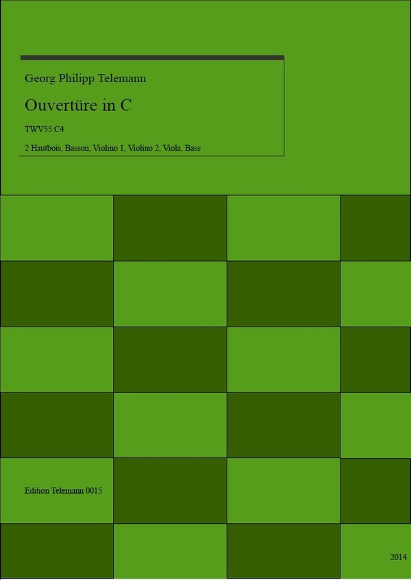 0015 Ouverture in C TWV55:C4