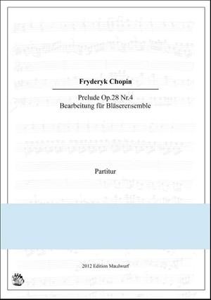 Chopin Prelude (Bläserensemble)