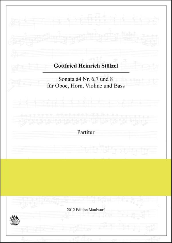 Stoelzel Sonaten Band 3