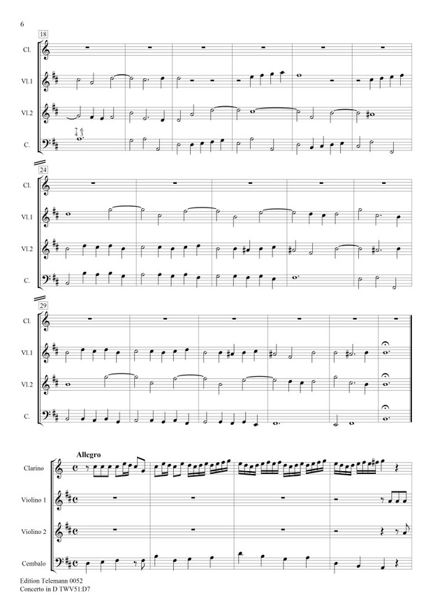 0052 Concerto in D