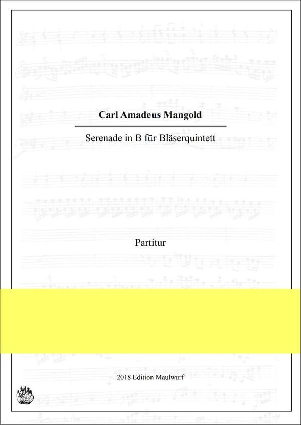 Mangold Serenade (Bläserquintett)