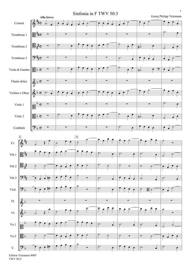 0005 Sinfonia in F TWV50:3