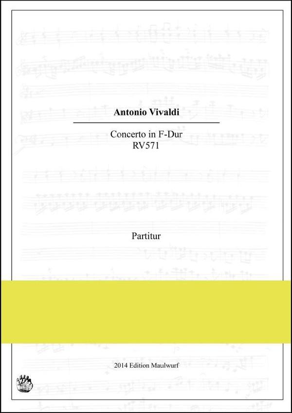 Vivaldi Concerto RV571