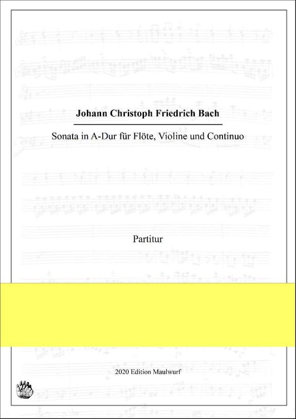 J.C.F. Bach Sonata in A