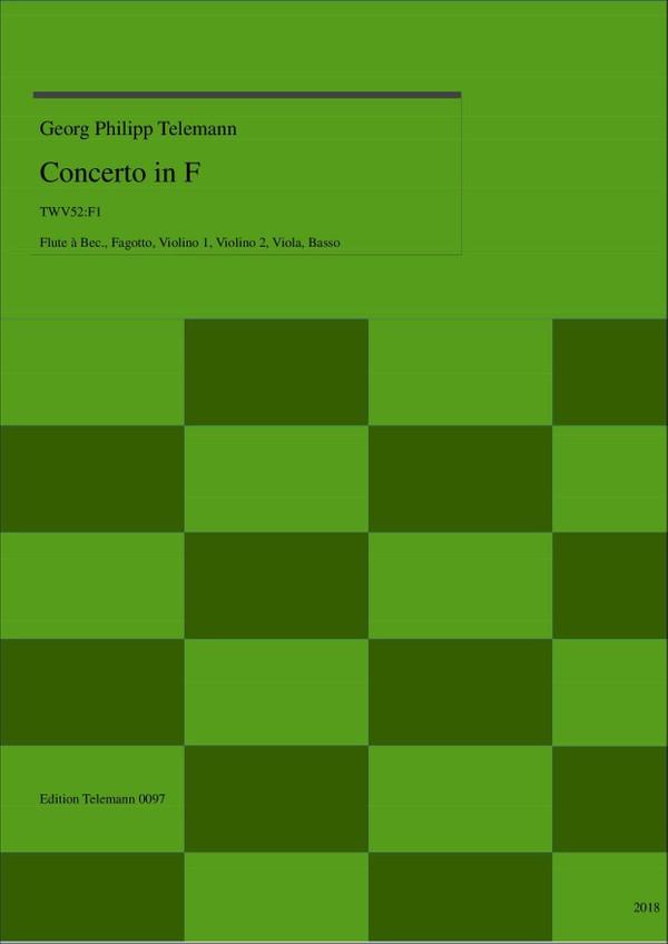 0097 Concerto in F, TWV52:F1