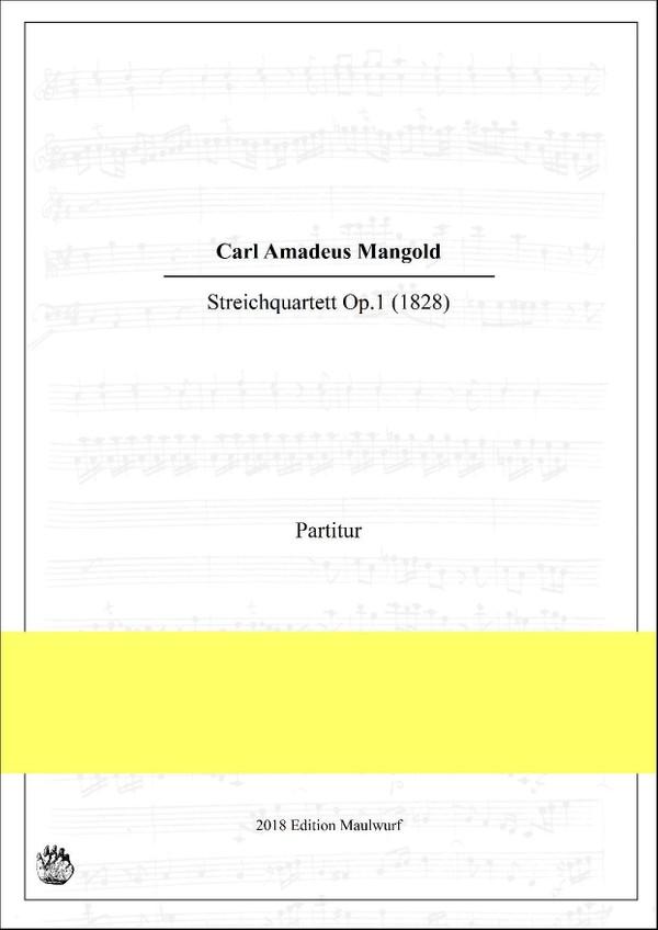 Mangold Streichquartett Nr.1