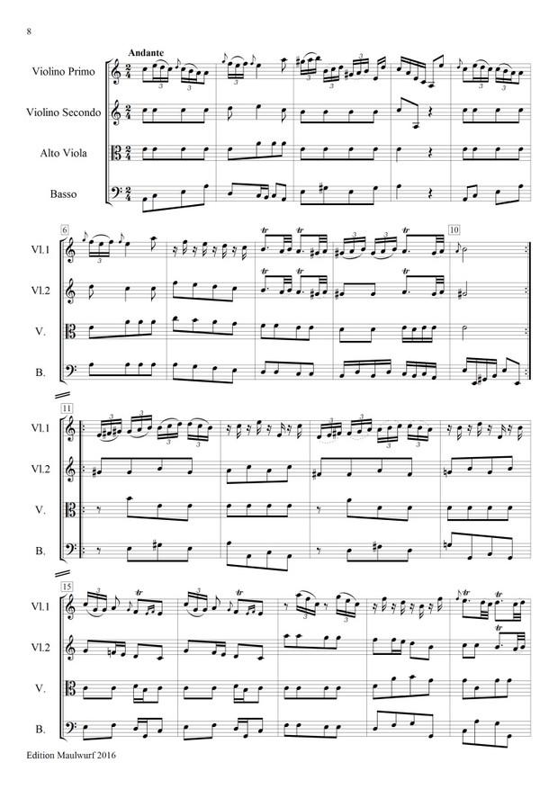 Bodinus Sinfonia in F