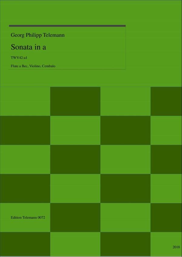 0072 Sonata in a TWV44:a1