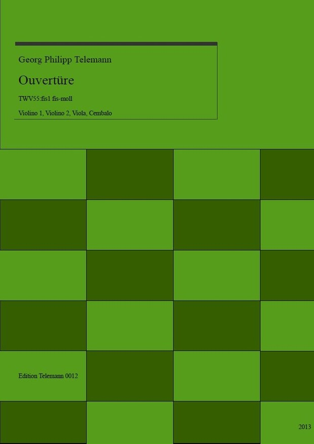 0012 Ouverture in fis (f sharp) TWV55:fis1