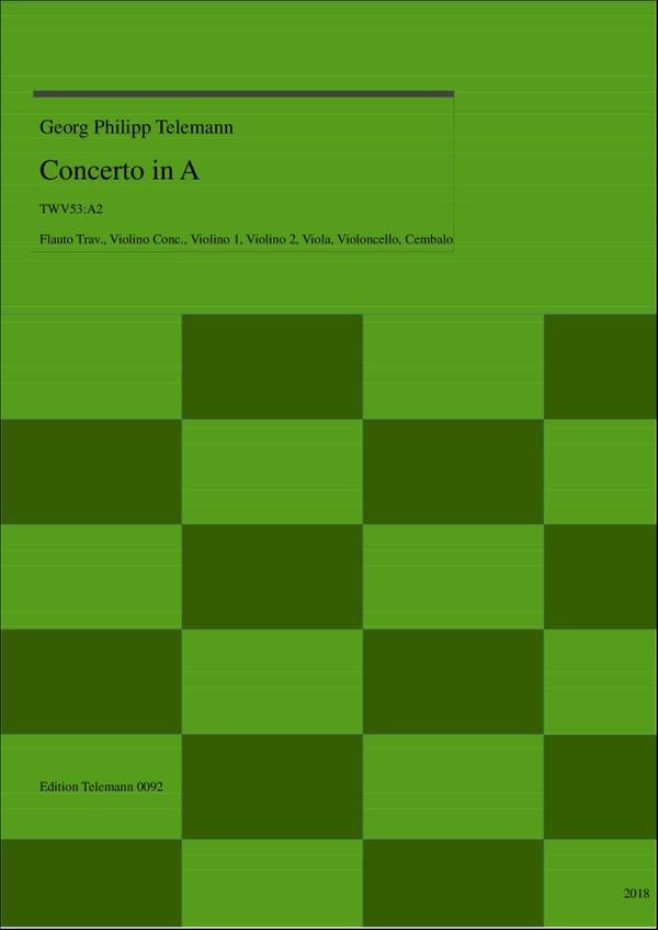 0092 Concerto in A