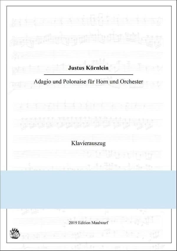 Adagio und Polonaise, Klavierfassung