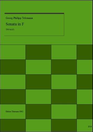 Telemann Sonata in F TWV43:F2