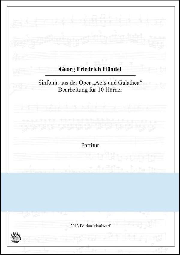 Händel Sinfonia (Hornensemble)