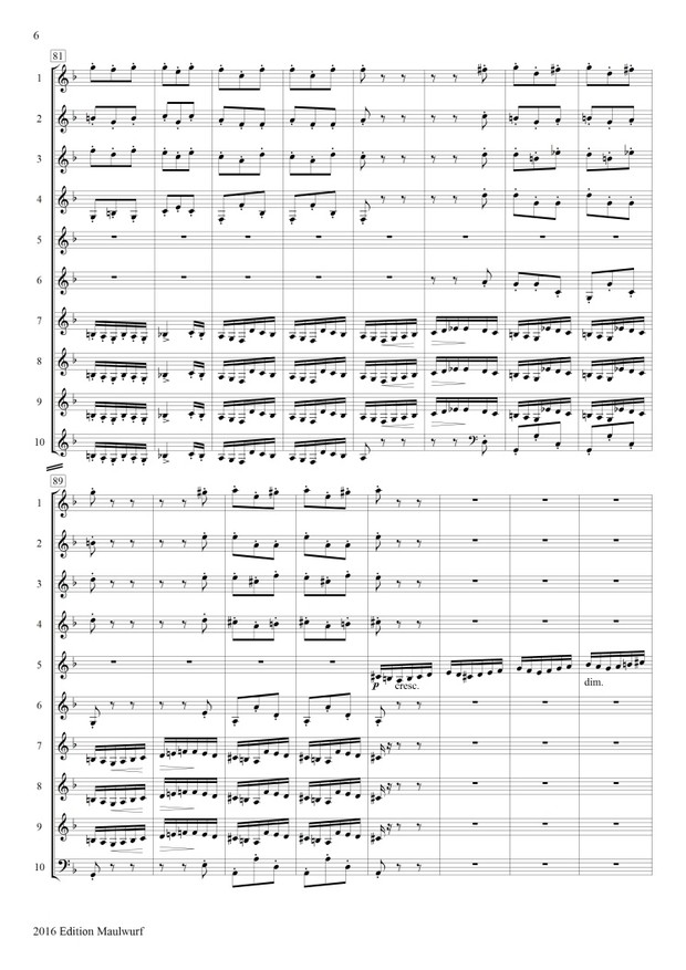 Mendelssohn Scherzo Hornensemble